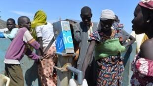 Les réfugiés nigérians du camp de Minawao au Cameroun ont fuit leur pays pour échapper aux exactions de Boko Haram.