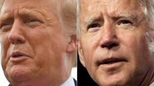 El presidente y candidato a la reelección Donald Trump y su rival demócrata Joe Biden estarán en Pensilvania para evocar los atentados del 11 de setiembre de 2001