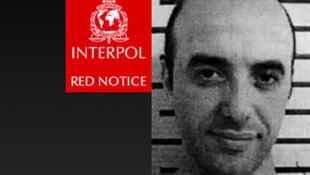 Anuncio de búsqueda lanzado por Interpol con la imagen de Redoine Faïd.