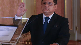 Ruben Vargas Ministro Interior Peru