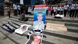 Manifestación contra la violencia en México D.F., en mayo de 2012.
