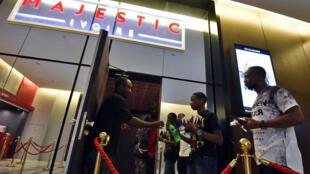 Le cinéma Le Majestic à Abidjan le 20 octobre 2017.