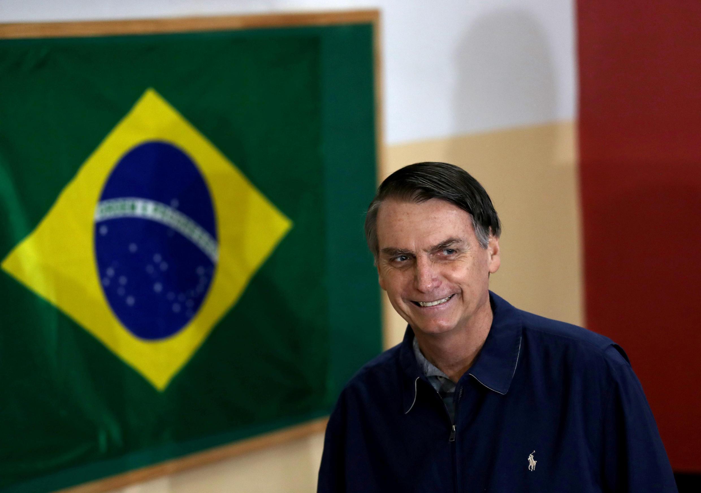 Le président élu du Brésil Jair Bolsonaro.