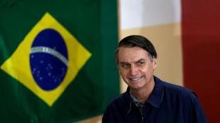 """Jair Bolsonaro نامزد حزب راستِ افراطیِ """"سوسیال لیبرال""""، برای انتخابات ریاستجمهوری در برزیل."""