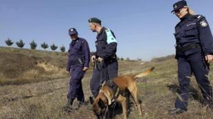 Охрана греческой границы, по которой проходит граница Шенгенской зоны.