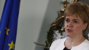 Avec ces élections, Nicola Sturgeon espère convaincre d'organiser un second référendum sur l'indépendance.