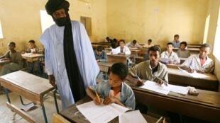 Dans une école de la région de Kidal (photo d'archives).