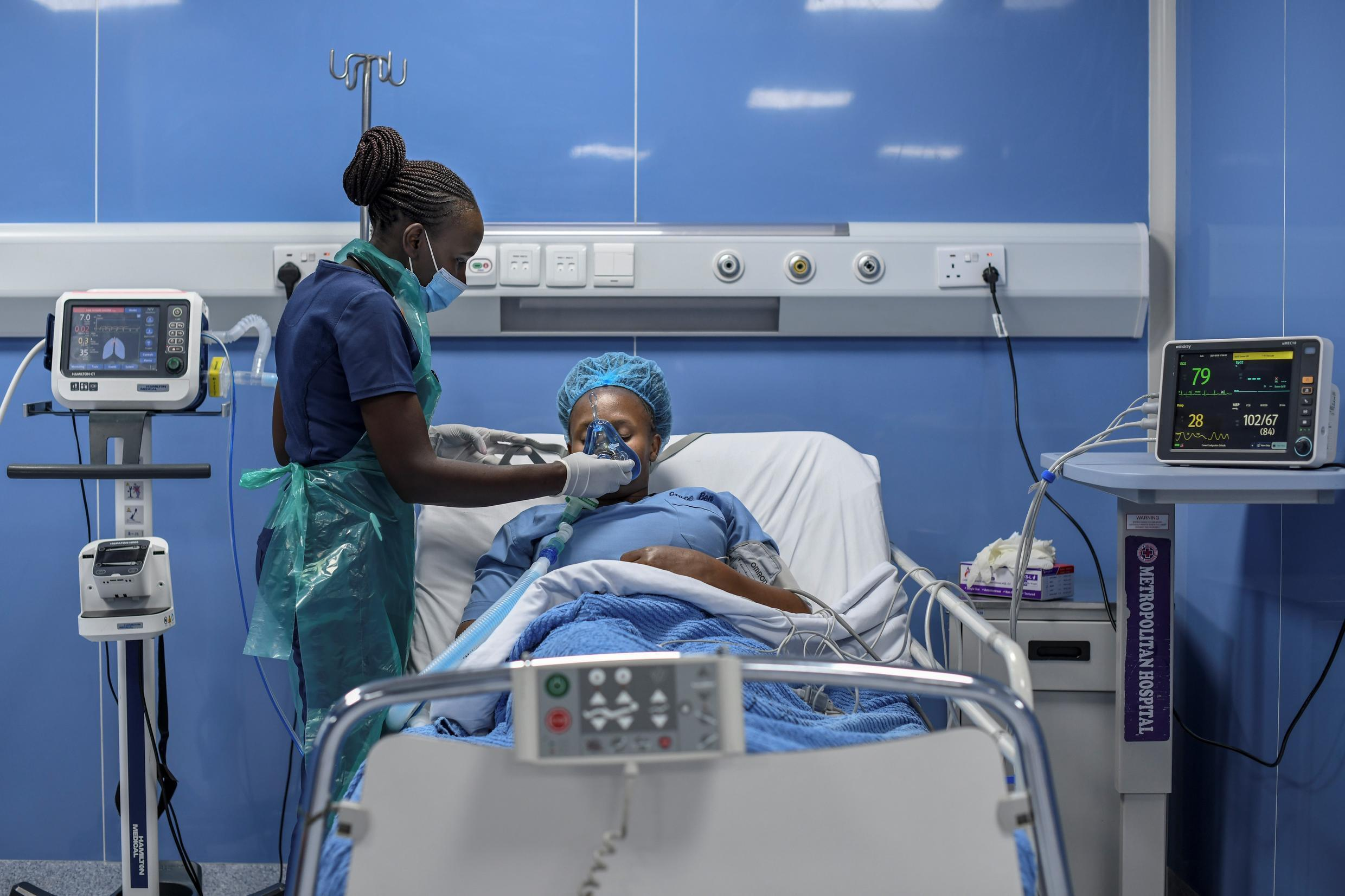 Kenya's hospitals have been scrambling to increase supplies of oxygen fearing the nightmare scenario currently unfolding in India