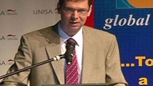 Eric Silla, conseiller spécial du sous-secrétaire d'Etat américain Johnnie Carson.