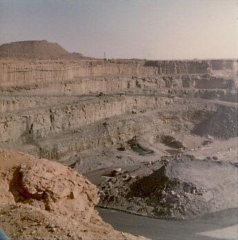La mine d'uranium d'Arlit au Niger.