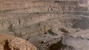 La mine d'uranium d'Arlit au Niger exploitée par Areva.