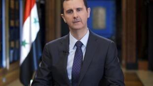 Rais wa Syria Bashar Al Assad ambaye ametangaza utayari wa nchi yake kutoa ushirikiano kwa Umoja wa Mataifa UN juu ya kutetekeza silaha zake za kemikali