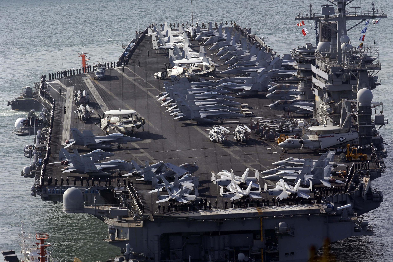 USS Nimitz - Mer de Chine