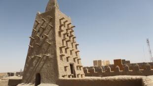 La mosquée Djingareyber à Tombouctou au Mali.