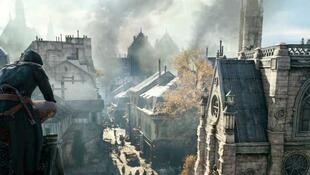 Le jeu Assassins creed, Ubisoft.