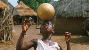Un extrait du film guinéen, «Le Ballon d'Or».