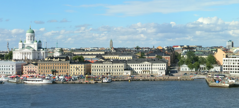 Phần Lan, quê hương của ông già Noel. Trong ảnh, thủ đô Helsinki.
