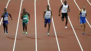 Le Togolais Fabrice Dabla battu en séries du 200 mètres, aux Championnats du monde 2017 d'athlétisme.
