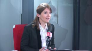 Aurore Bergé, députée des Yvelines, porte-parole du mouvement LaREM.