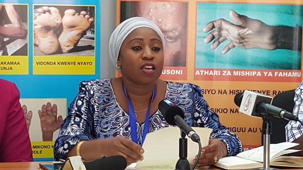Waziri wa Afya na Ustawi wa jamii nchini Tanzania, Ummy Mwalimu.