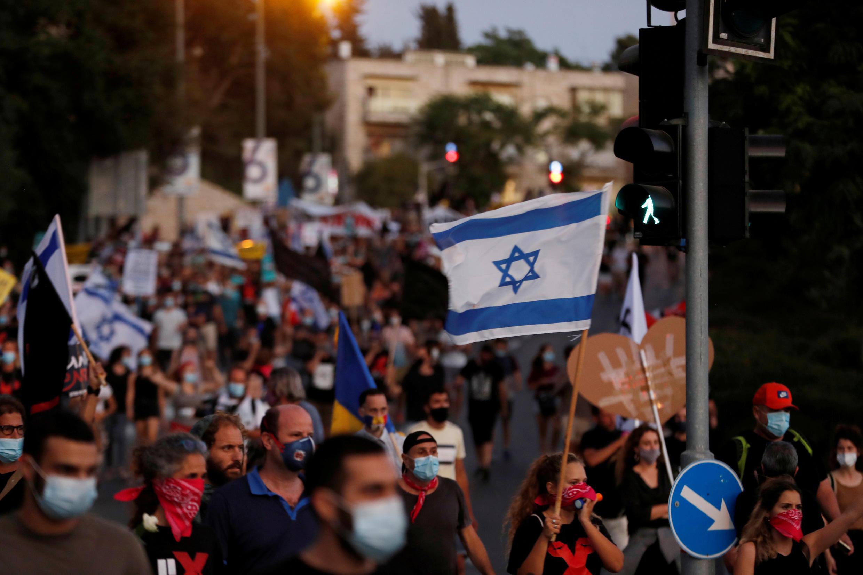 Israel Manifestations Juillet 2020 Covid