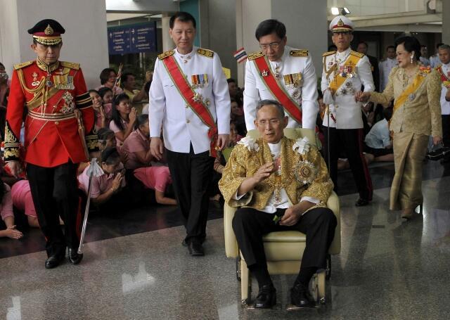 Король Таиланда Пхумипон Адульядет отмечает день рождения - 84 года.