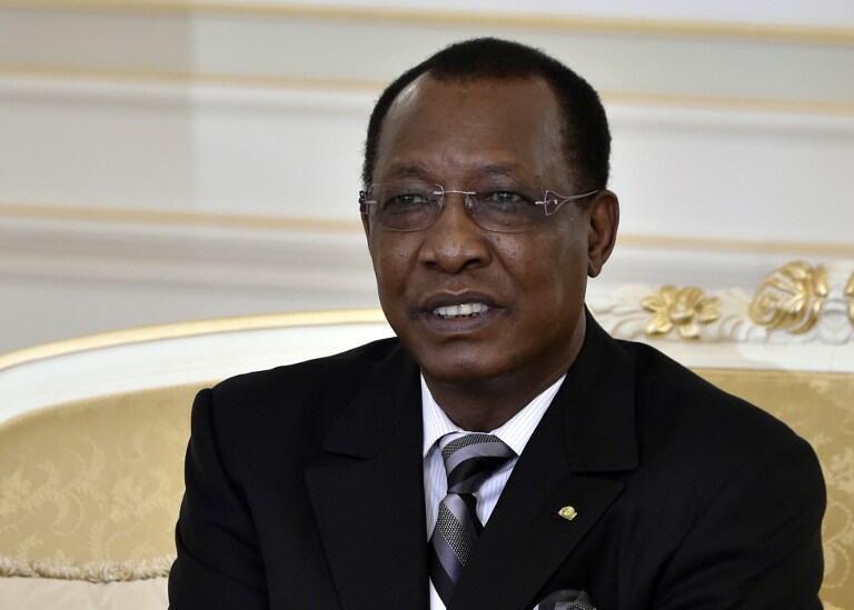 Le président du Tchad Idriss Déby Itno à Ndjamena, le 22 novembre 2014.