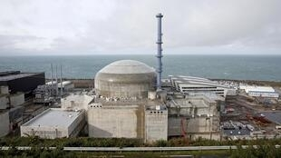 General view of the construction site of the third-generation European Pressurised Water nuclear reactor in Flamanville, France.