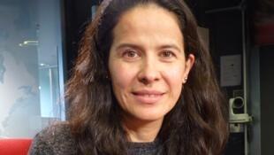 Arcelia Ramírez en los estudios de RFI
