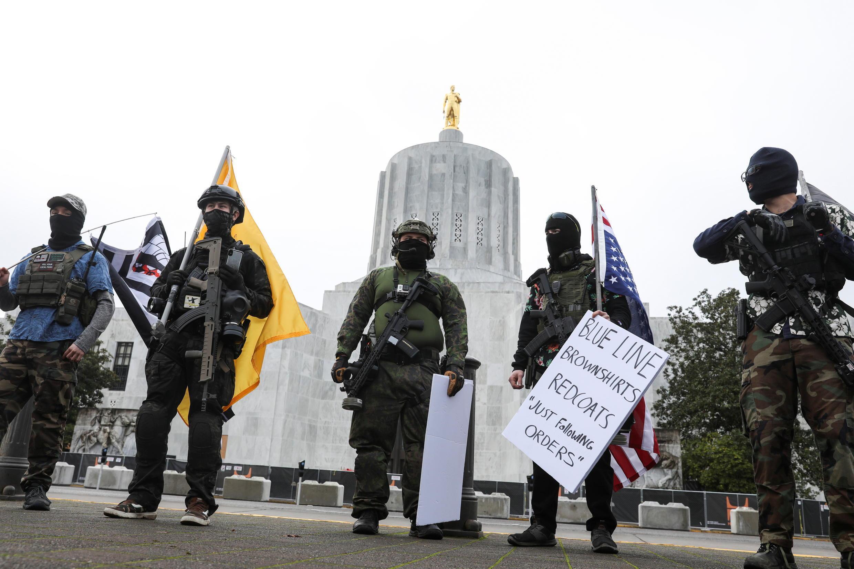 usa - oregon - manif  2021-01-17T200530Z_1471460832_RC2W9L9NEB41_RTRMADP_3_USA-TRUMP-PROTESTS
