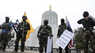 usa - oregon - manif  2021-01-17T200530Z_1471460832_RC2W9L9NEB41_RTRMADP_3_USA-TRUMP-PROTESTS
