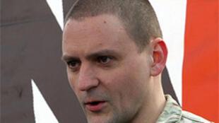 Российский оппозиционер Сергей Удальцов