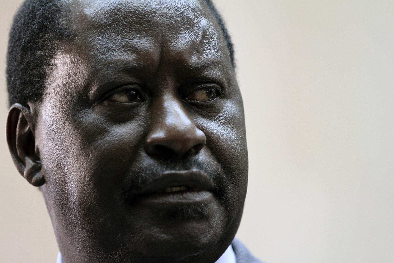 Aliyekuwa Waziri Mkuu wa Kenya,Raila Odinga