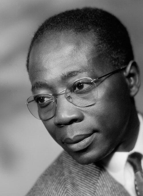 photo non datée de Léopold Sédar Senghor, président du Sénégal entre 1960 et 1980.