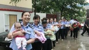 中国公安救出89名被拐卖儿童