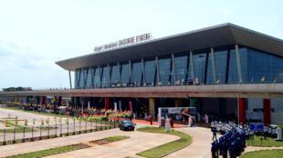 Le nouveau terminal de l'aéroport de Lomé, inauguré le 25 avril 2016.