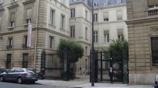Le siège du Parti socialiste français, rue de Solférino, à Paris.