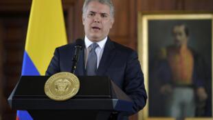 Le président colombien Ivan Duque.