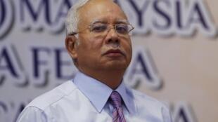 Thủ tướng Malaysia Najib Razak xuất hiện tại một sự kiện ở Kuala Lumpur, 14/03/2016.