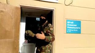 Обыск в штабе ФБК Алексея Навального в Перми. 12 сентября 2019 г.