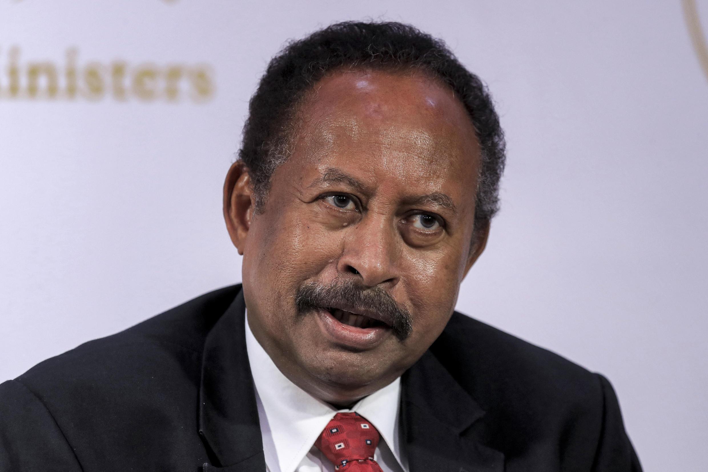 Sudan's Prime Minister Abdalla Hamdok hopes his country can wipe out its $60 billion foreign debt by securing investment and debt relief at next week's Paris conference