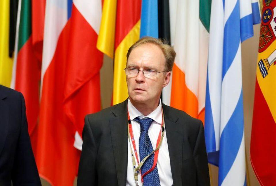 Đại sứ Anh Ivan Rogers tại Liên Hiệp Châu Âu trong một thượng đỉnh Châu Âu, Bruxelles, 28/06/2016.