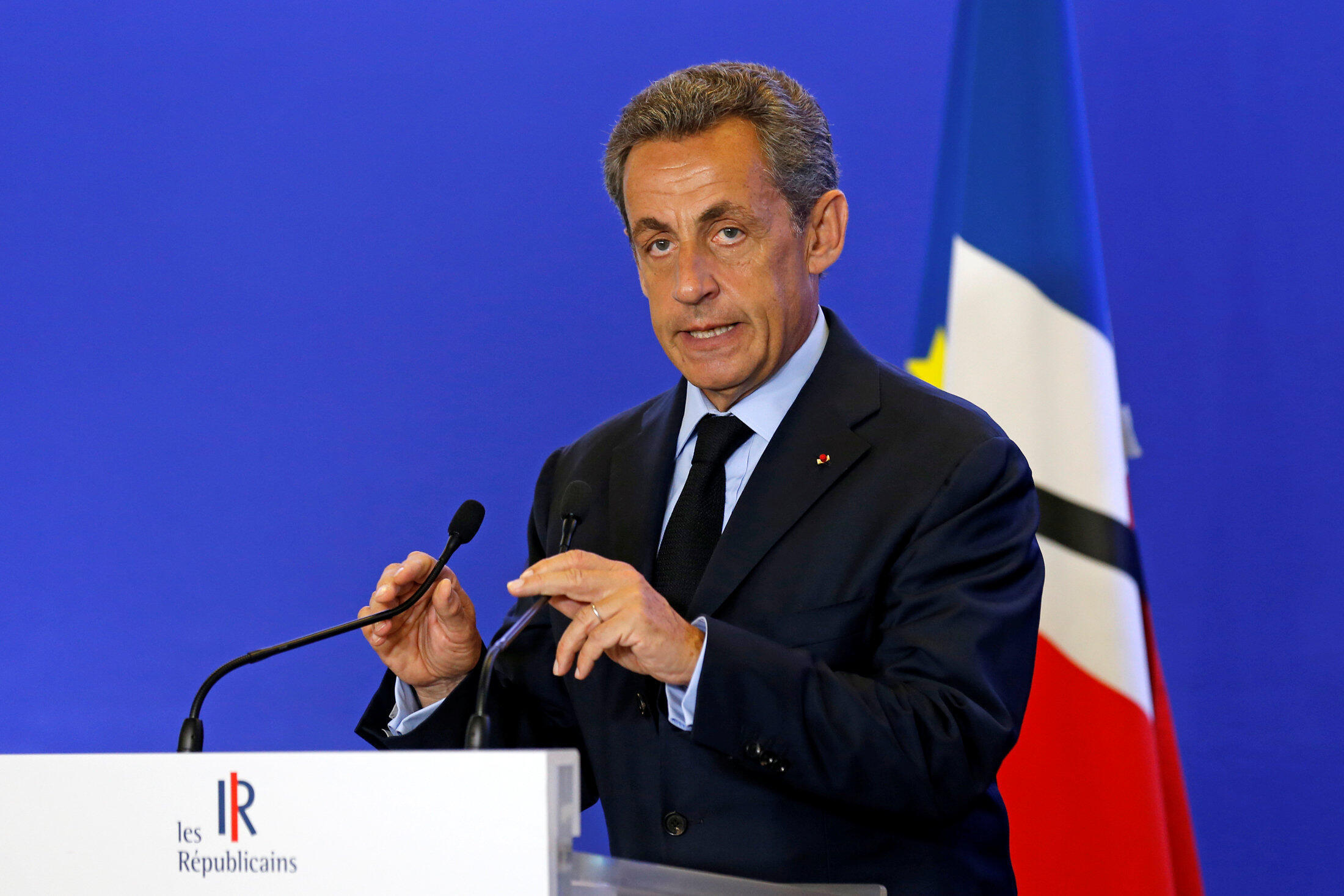 Former French president Nicolas Sarkozy announced he will seek party nomination for the 2017 presidential election.