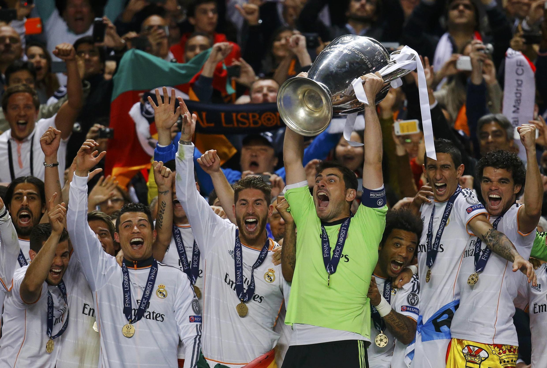 Torcedores do Real Madri comemoram título da Liga dos Campeões