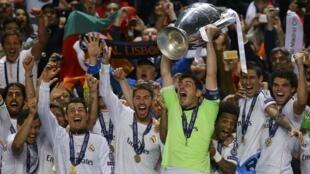 Real Madrid ganha Liga dos Campeões europeus 2014.