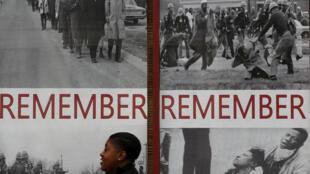 Selma, no Alabama, lembra neste sábado os 50 anos da marcha pacífica pelos direitos civis nos EUA.