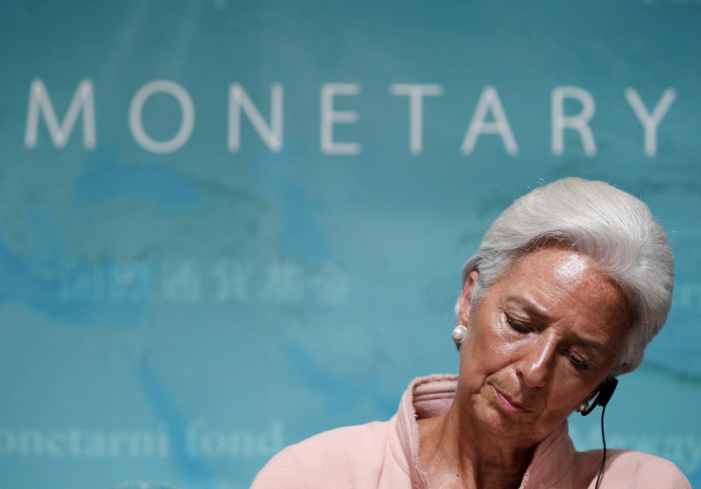 La directora gerente del FMI, Christine Lagarde, este 6 de julio de 2012 en Tokio.