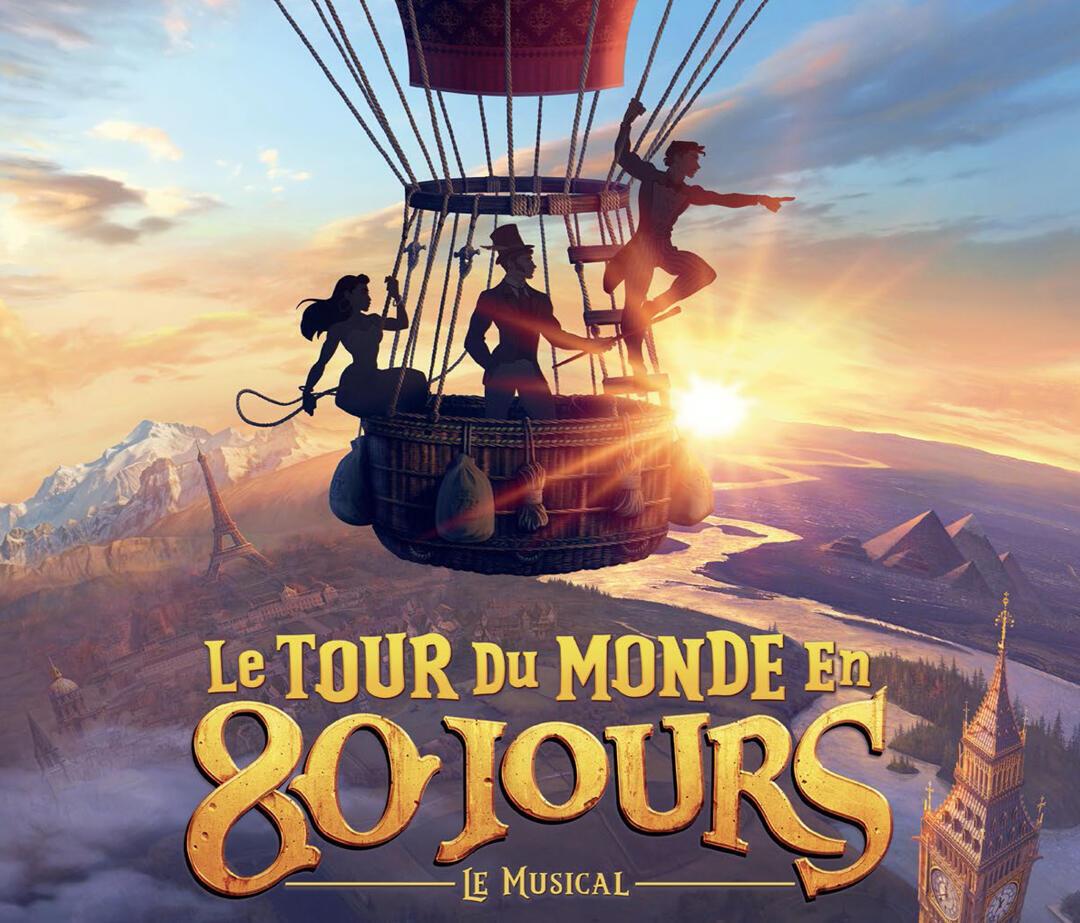 """El espectáculo """"La vuelta al mundo en 80 días"""" se estrenó en París."""