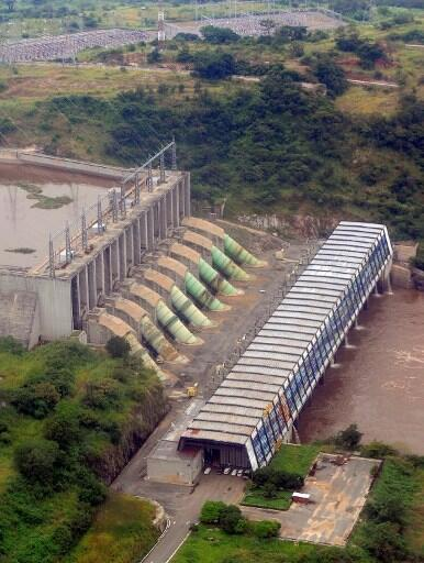 Le barrage Inga en RDC.
