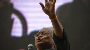 Suthep Taugsuban, chef de file de la contestation en Thaïlande, a annoncé le 28 février à Bangkok la fin de l'opération du blocus de la capitale.